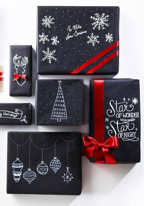 novogodisnja dekoracija_uradi sam_pakovanje poklona_3