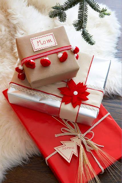 novogodisnja dekoracija_uradi sam_pakovanje poklona_6