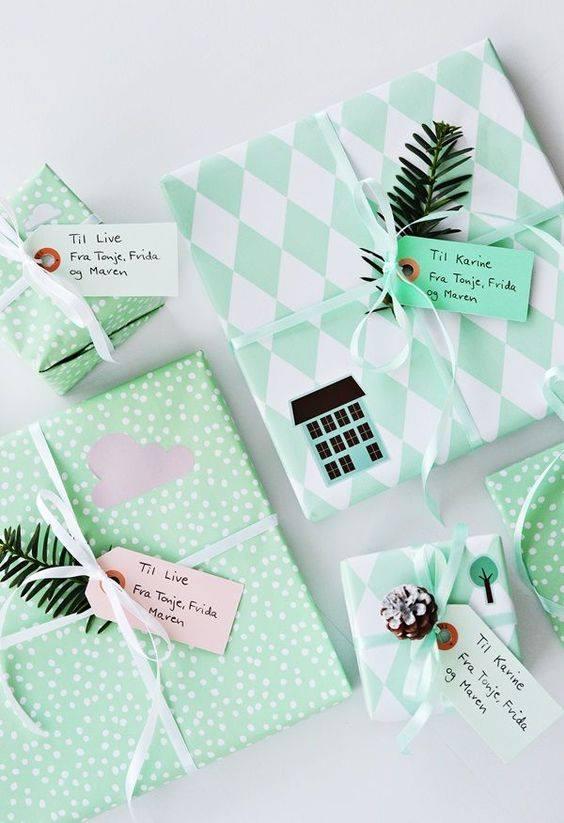 novogodisnja dekoracija_uradi sam_pakovanje poklona_7