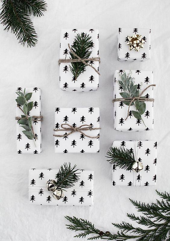 novogodisnja dekoracija_uradi sam_pakovanje poklona_9