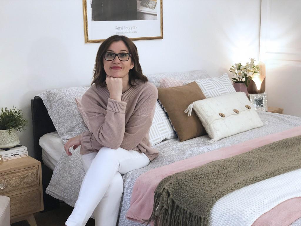 spavaća soba - roze dekoracija