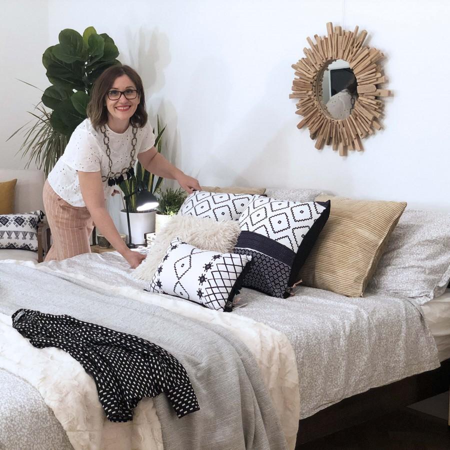 spavaća soba u boho stilu