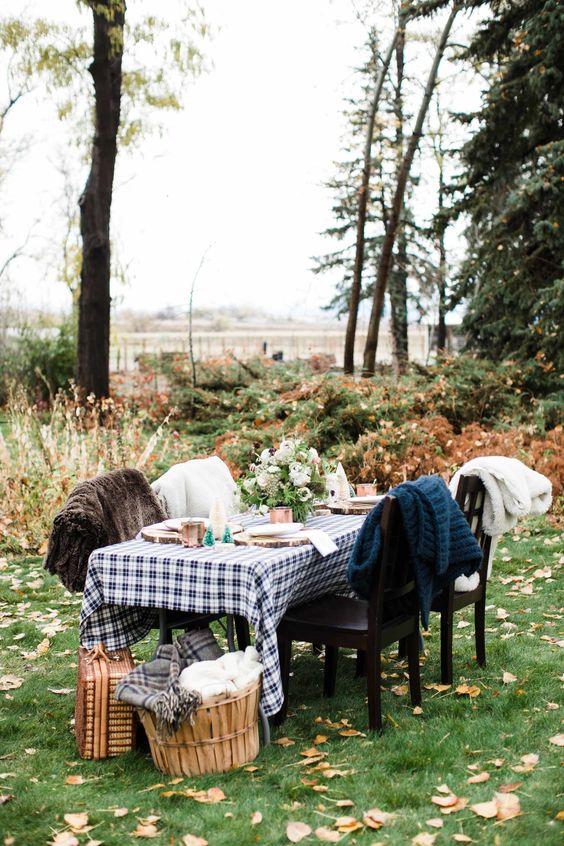 ručak u prirodi